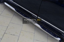 Great Wall Hover H6 2013- Пороги труба d76 с накладкой (вариант 2) GH6T-0016292